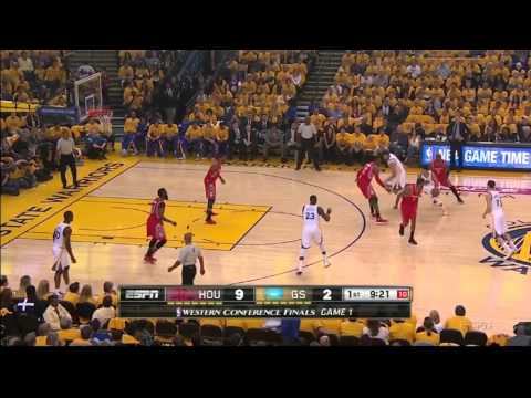 Houston Drop + Fight Over PnR D on Curry
