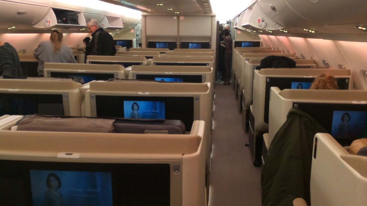 Download Singapore Airlines Business Class - New York to Frankfurt - A380 Upper Deck
