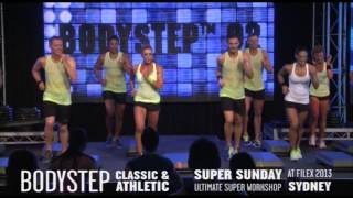 Les Mills BODYSTEP® 92 at Super Sunday 2013