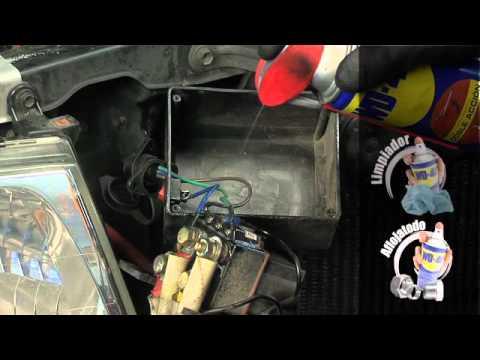 Warn Remote Winch Control Wiring Diagram Free Picture Mantenimiento De La Caja De Reles Del Winch Youtube