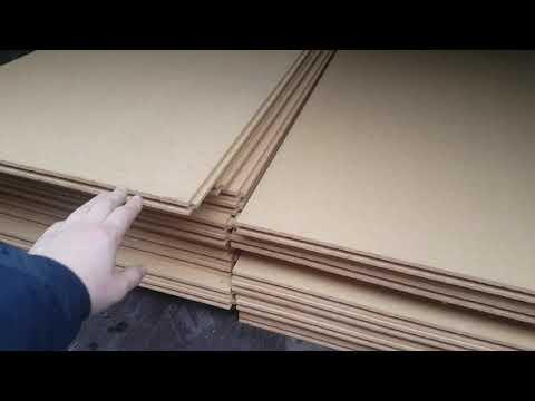 Ветро-влагозащитная плита с шип-пазом 25 мм
