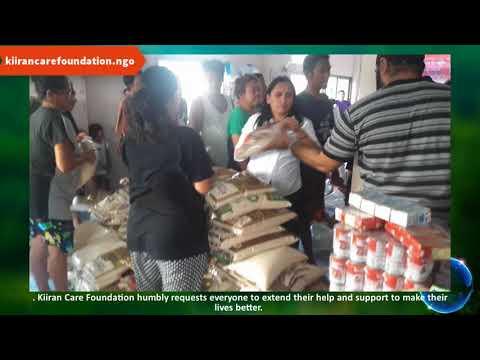 Food Distribution In Slum By Kiiran Care Foundation