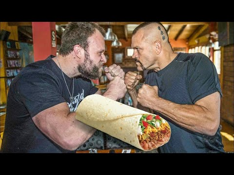Burrito Eat Off vs Chuck Liddell! (Ultimate Expedition Episode 1)