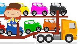 ДОКТОР МАШИНКОВА - Автовоз и потерянная машинка | Мультики для детей про машинки - Учим цвета