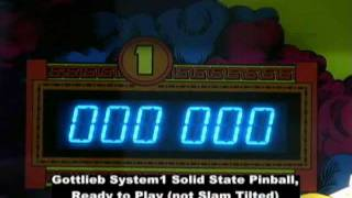 Pinball repair - Gottlieb System1 Slam Tilted vs. Normal Operation