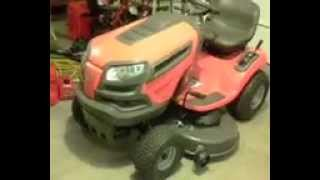 Husqvarna YTH22V46 22 HP VTwin Hydrostatic 46-in Riding Lawn Mower with Briggs & Stratton Engine