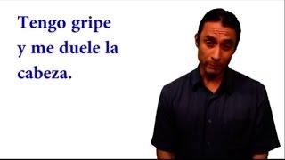 """Spanish Grammar: """"Preguntar por la salud y dar consejos"""""""