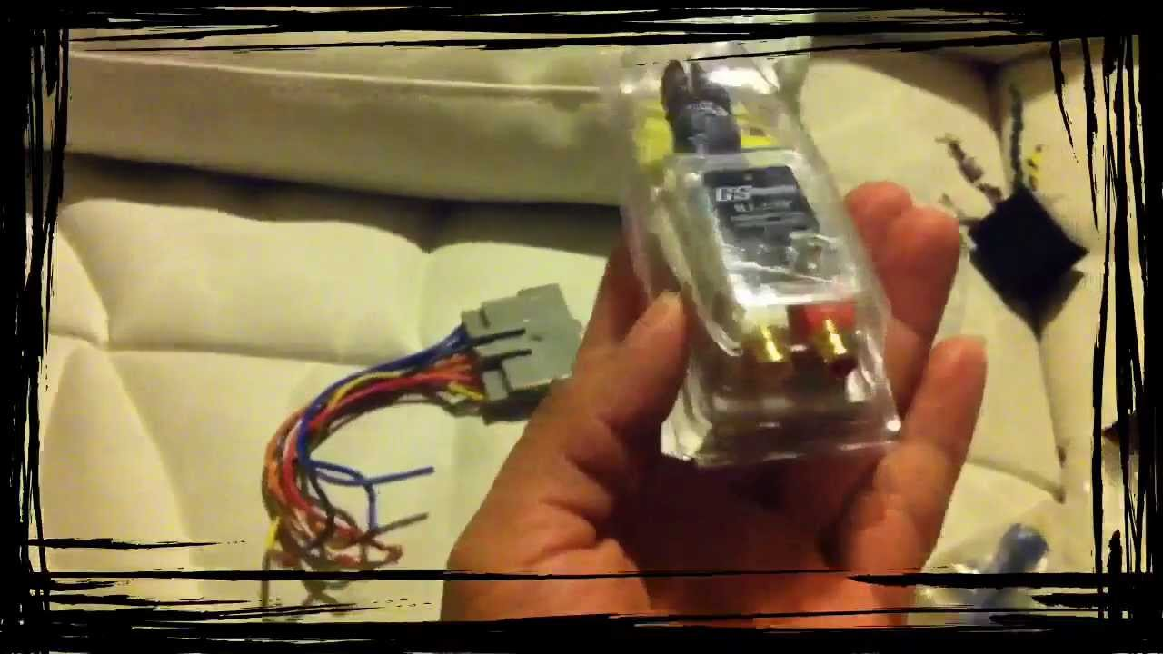 How To Hook Up Amp Into Stock Stereo Youtube 2002 Suburban Speaker Wiring Harness