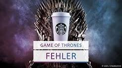 Der Kaffeebecher und andere Filmfehler in Game of Thrones