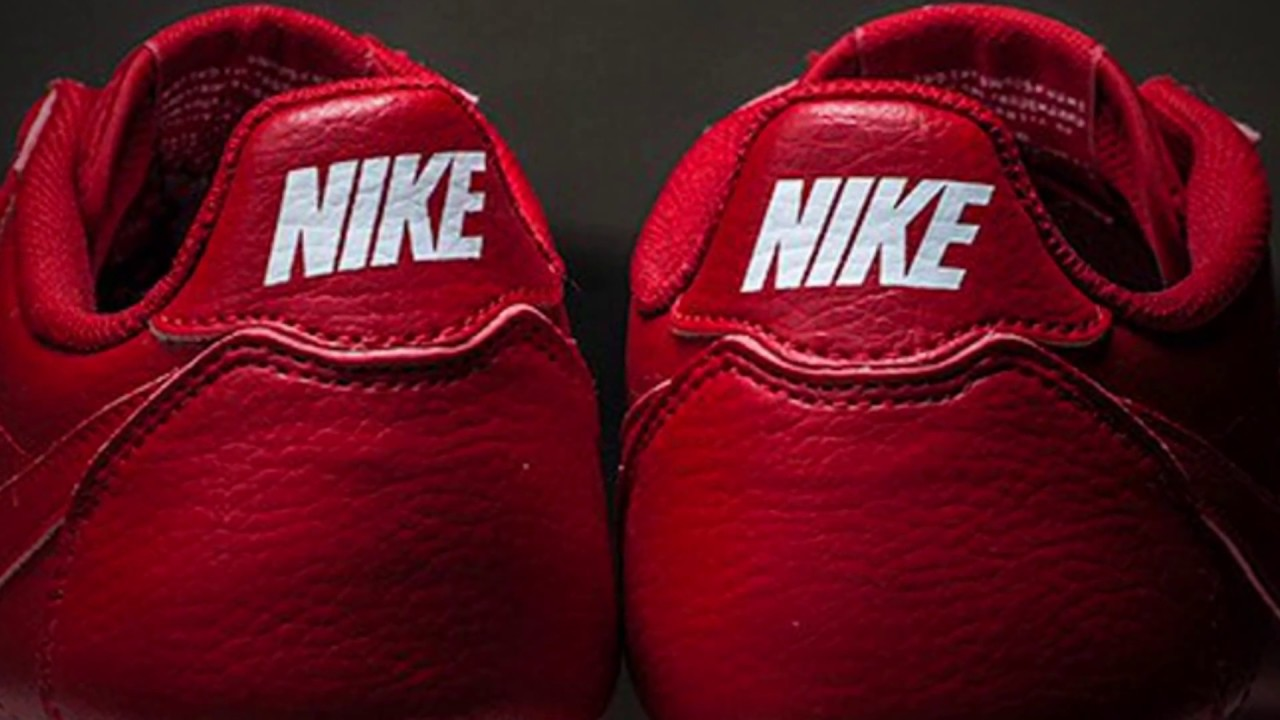 lowest price 47c34 c29a3 NIKE CLASSIC CORTEZ LEATHER (COMET RED)