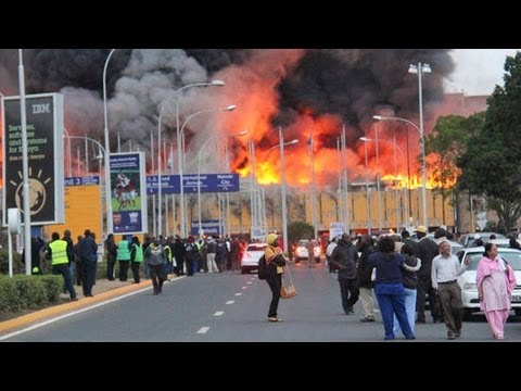 Nairobi Airport Fire: Raw Footage | The New York Times