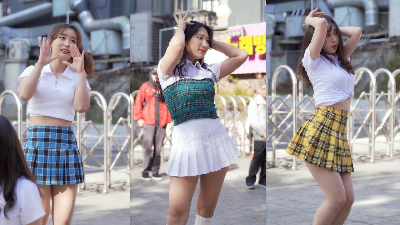 [4k] 191109 댄스팀 얼웨이즈 Always - 루비,새벽,레아 dance performance @ 홍대버스킹 직캠
