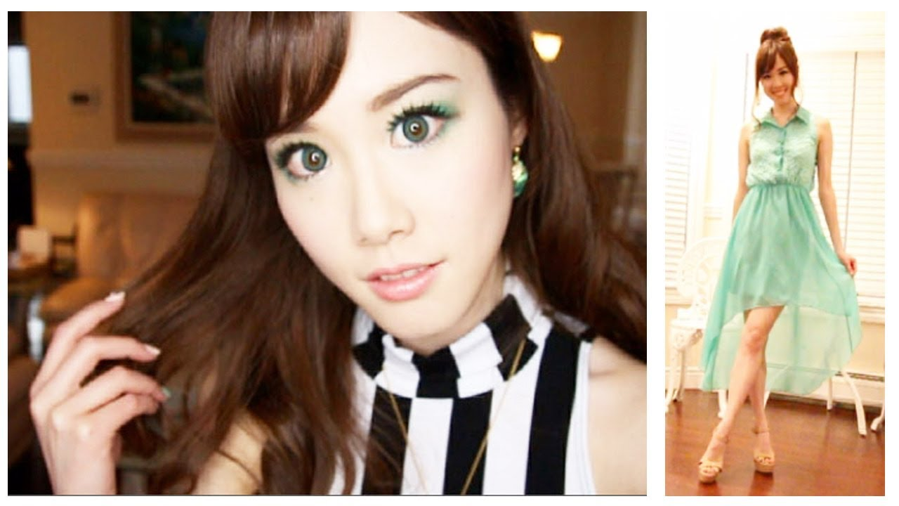 My Spring Makeup Amp Fashion Youtube