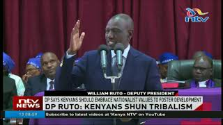 DP Ruto asks Kenyans to embrace nationalist values to foster development