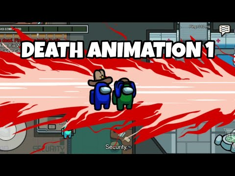Among Us Death Animation 3 Youtube