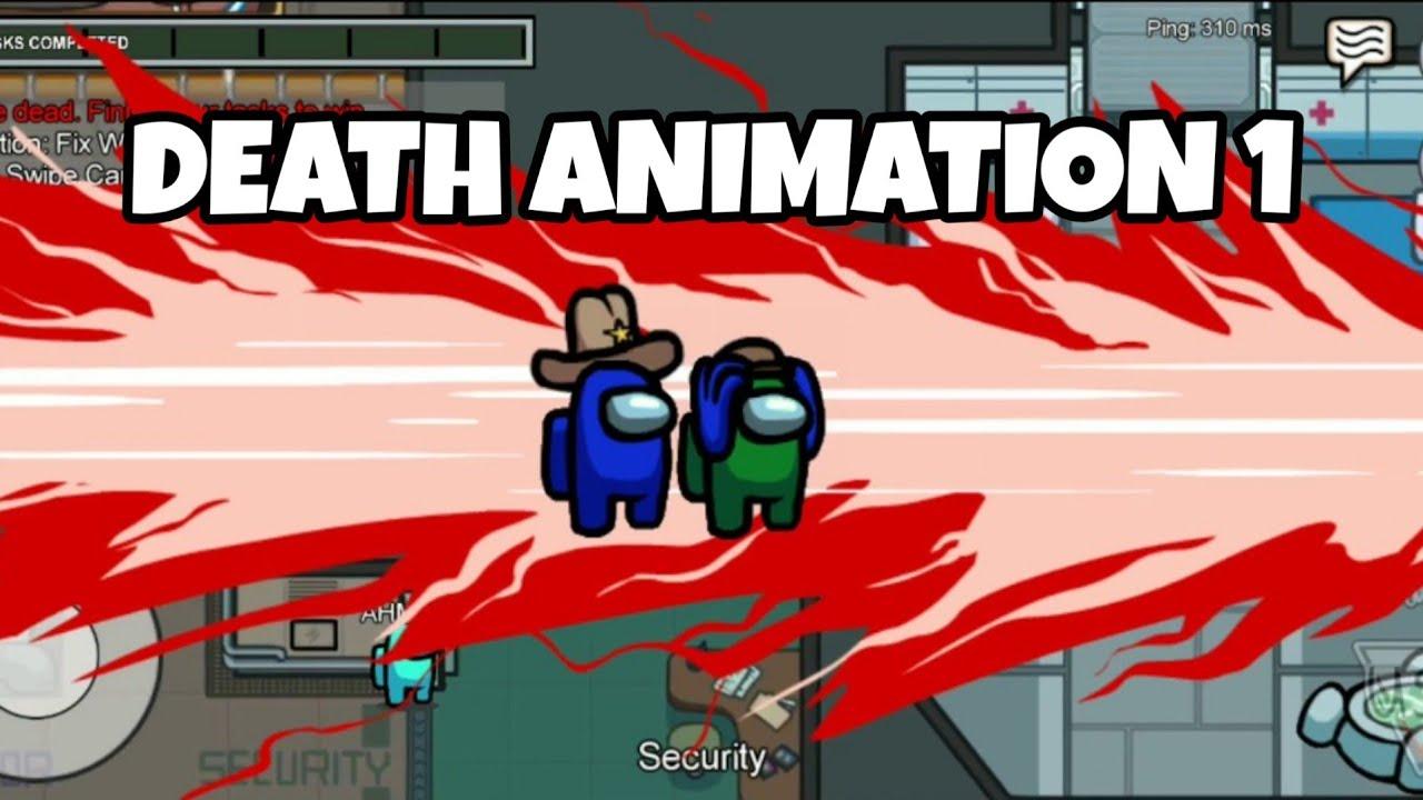 Among Us Death Animation 1 Youtube