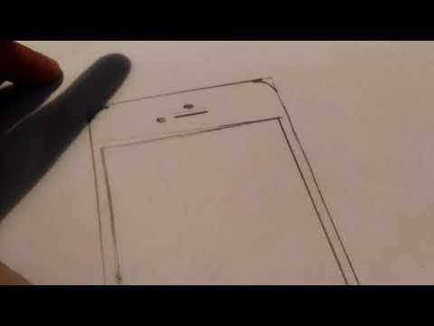 Как нарисовать смартфон