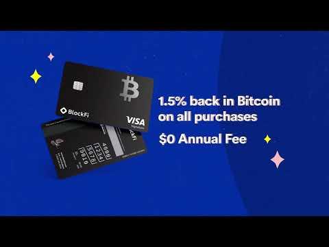 The World's First Bitcoin Rewards Credit Card