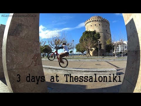 Discover Greece on Trials - 3 days at Thessaloniki | a street trials travel video guide