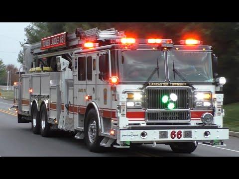 East Hempfield Township Working Dwelling Fire Response & Footage 11/20/19