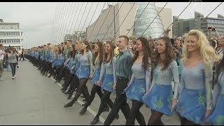 В Дублине установили рекорд по ирландским танцам (новости)