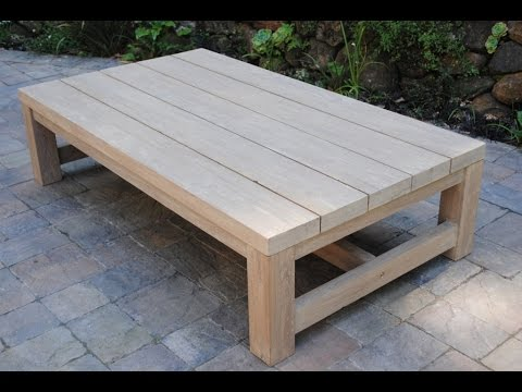 Outdoor Coffee Table Ideas You