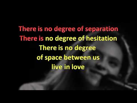 No degree of separation - Francesca Michielin (Instrumental karaoke EUROVISION 2016)