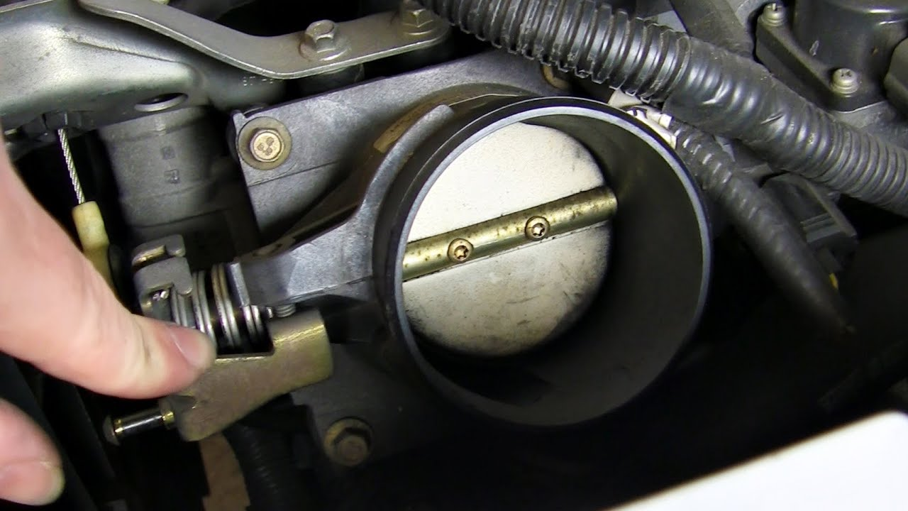 clean replace throttle body ford duratec