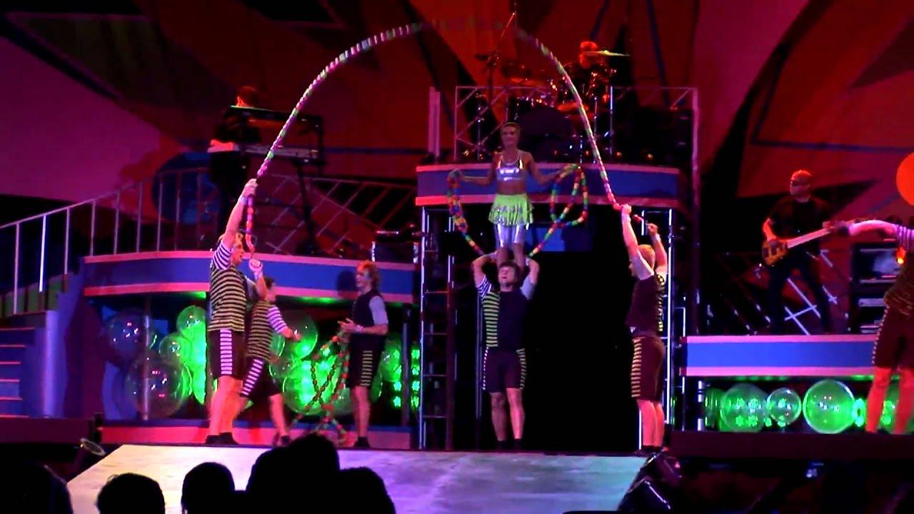Kinetix Summer Nights rock acrobatics show at Busch Gardens Tampa