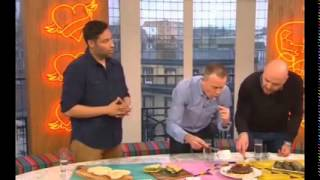 Arepa and Co. Venezuela cuisine in London taking over British national TV @ArepaAndCo