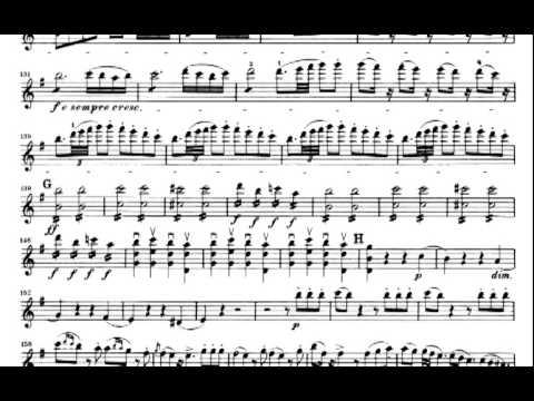 Rossini The Barber of Seville Violin sheet music