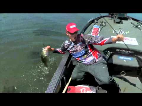 Keith Combs with a 6 pounder BASS Live www.bassmaster.com