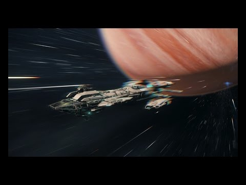 Star Citizen - Fighting Pirates, Piloting multiple vessels, rescuing others