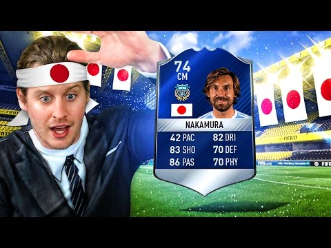 WHAT IS THIS?! TOTS NAKAMURA! THE BEST EVER SILVER TEAM OF THE SEASON CARD!? FIFA 17 ULTIMATE TEAM