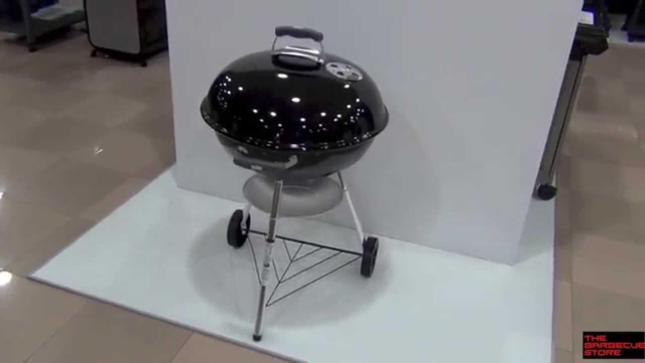 Weber Holzkohlegrill Compact Kettle 57 Cm : Barbacoa de carbón weber compact kettle 57 cm negra. youtube