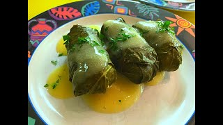 Greek Dolmades with Avgolemono Sauce Recipe - Episode # 132