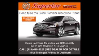 Skip the B Lot and go to Superior Buick GMC