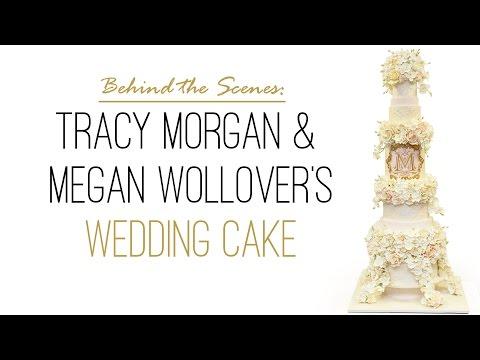 Tracy Morgan & Megan Wollover's Wedding Cake: Behind the Scenes
