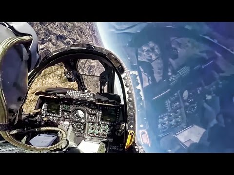 A-10 Cockpit Video • Combat Search & Rescue Training