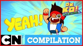 OK K.O.! Let's Be Heroes | Power Compilation | Cartoon Network