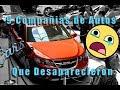 9 Compañías de Autos que Desaparecieron (Parte 1) *CarsLatino*