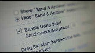 طريقة التراجع عن ارسال رسالة بعد ارسالها في Gmail