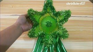 DIY#82 Mini Xmas Lantern/Parol #2 Using Drinking Straw Recycled