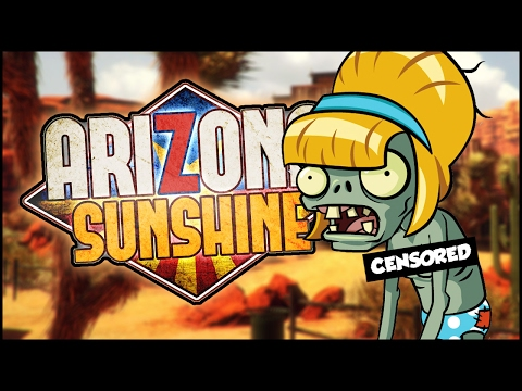 SEXY ZOMBIE BBQ PARTY GONE WRONG | Arizona Sunshine Funny Moments