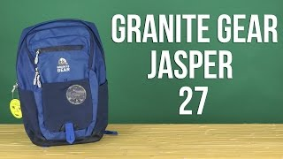 Розпакування Granite Gear Jasper 27 Blue 923132