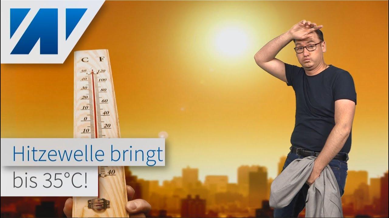 Bis 35°C: Erste Hitzewelle rollt nach Deutschland! Wie lange bleibt es heiß? Neue Unwetter!