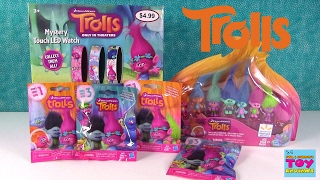 Trolls Palooza Watches Collection Figure Pack Blind Bag Opening Toy Review | PSToyReviews