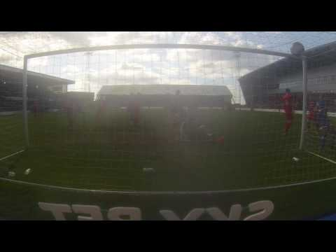 Check Out Peter Clarke's Header Against Rochdale From Behind The Goal