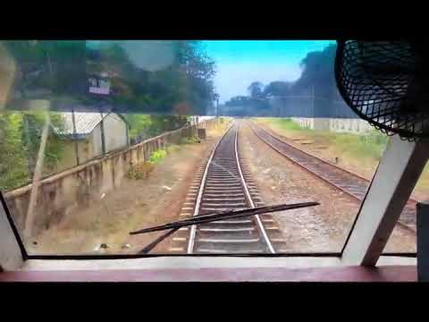 Class S9 Train Driver Room(Cab) Ride From Slave-Island To Kollupitiya