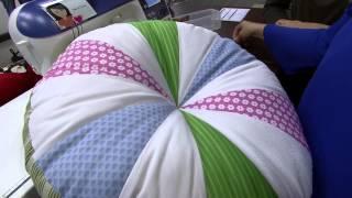 Almofada em patchwork Parte 2/2